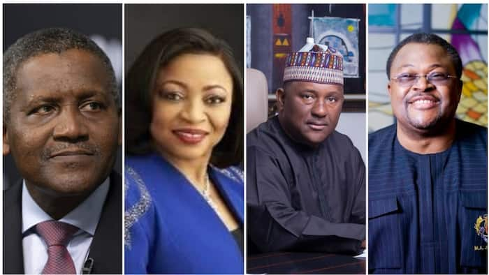 See the only 4 Nigerian dollar billionaires in 2020 whose wealth can 'shake' Africa