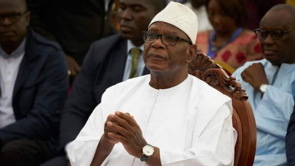 Mali's president Ibrahim Boubacar Keïta resigns after being detained by soldiers