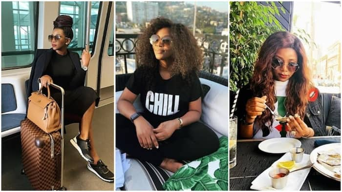5 times Genevieve Nnaji proved to be in a class of her own (photos)