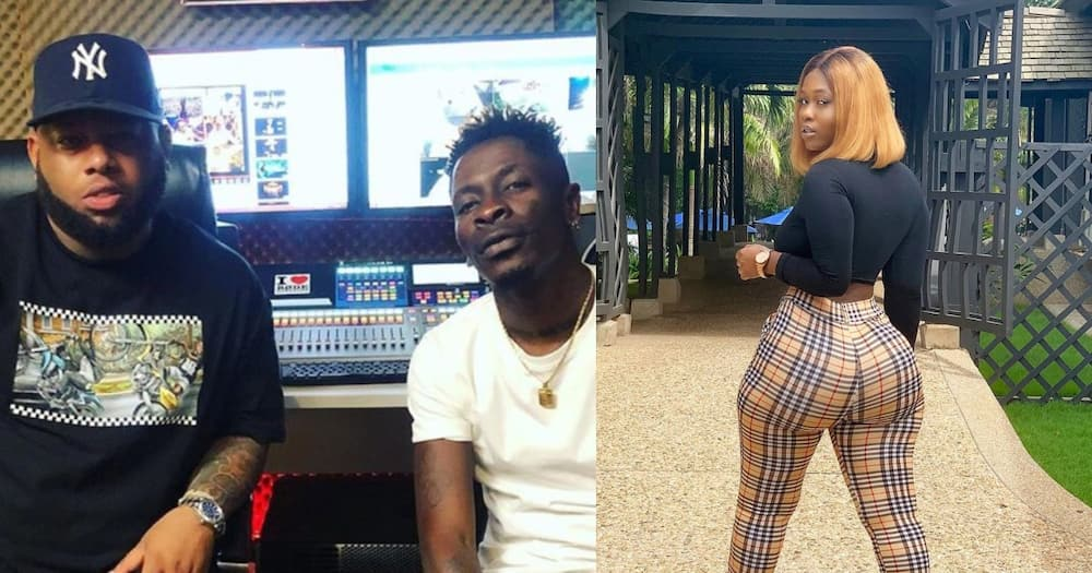 Shatta Wale 'fights' D-Black over 18-year-old curvy lady