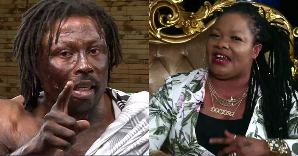 Kwaku Bonsam: Fetish Priest, not Happy with Agradaa's Conversion to Christianity in Video
