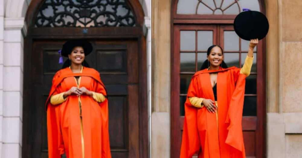 Woman, Graduates, 4 degrees, UCT, Social media reactions