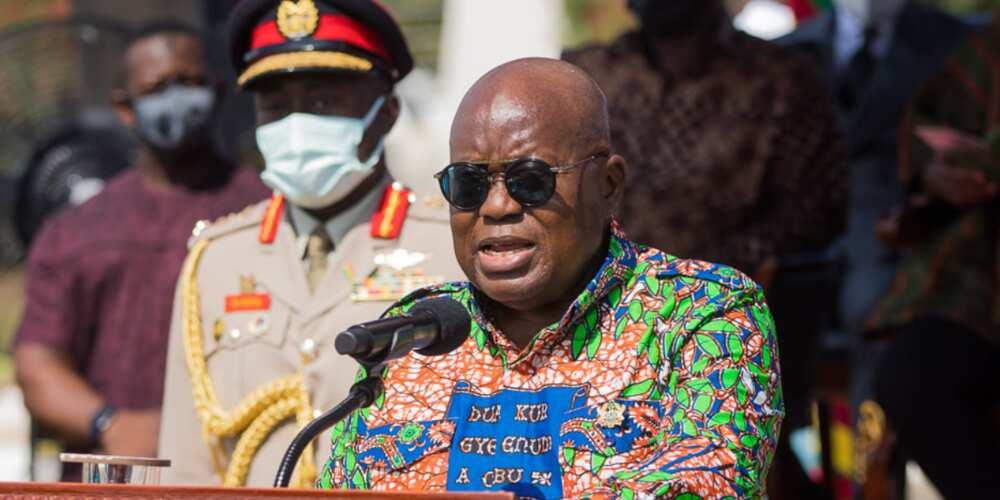 The King of Promise: Akufo-Addo vows to establish 1million enterprises across Ghana