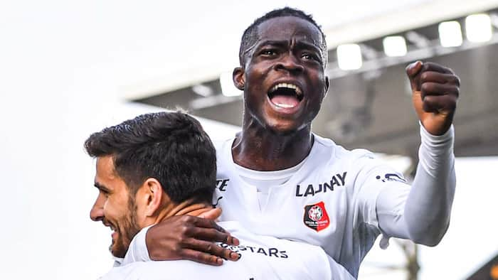 Red-hot Kamaldeen Sulemana scores in Stade Rennais' victory at FC Metz in France