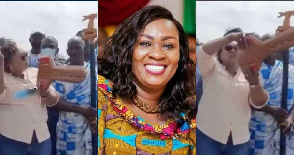 Hawa Koomson punishes Elmina fishermen for disrespecting her orders on closed season
