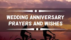 Wedding anniversary prayers and wishes that will melt your lover's heart