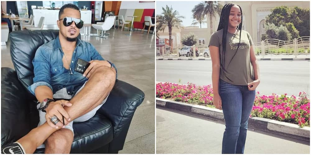 You're the Perfect Daughter, Actor Van Vicker Shows the World His Pretty Child As She Turns 15
