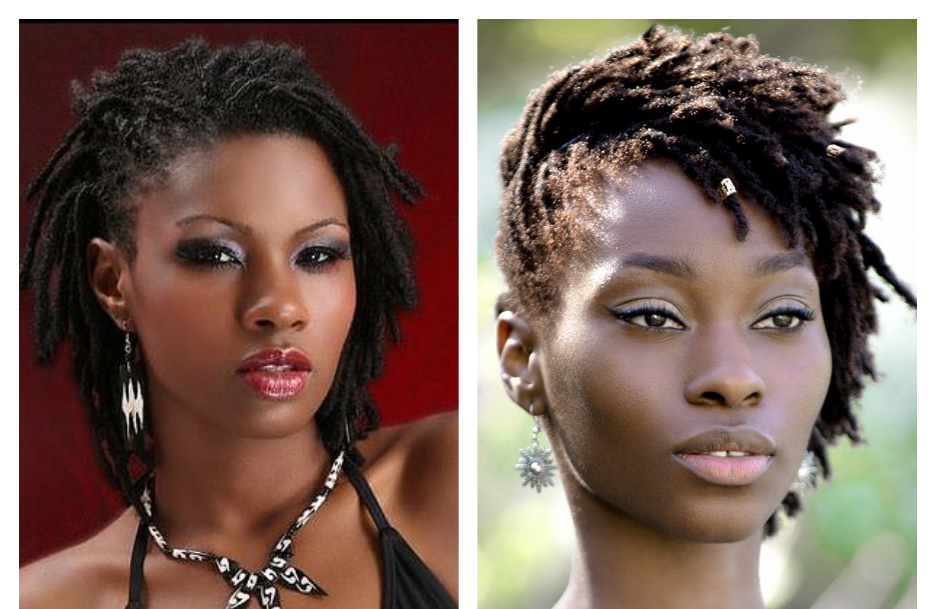 Dread styles for ladies with short hair that you can easily create