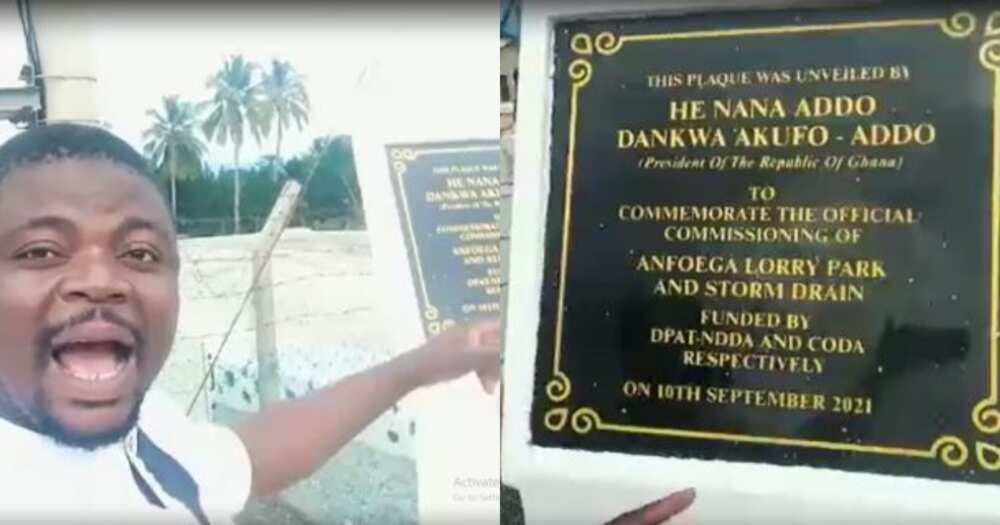 Viral video of Akufo-Addo commissioning transformer in Anfoega false