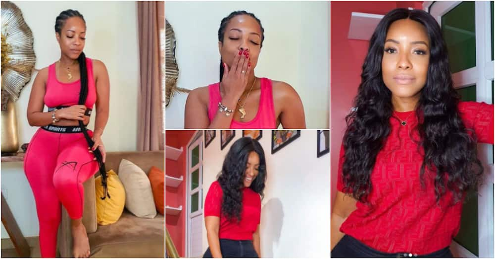Joselyn Dumas flaunts her beauty in no-makeup photos as she shows off her plush living room