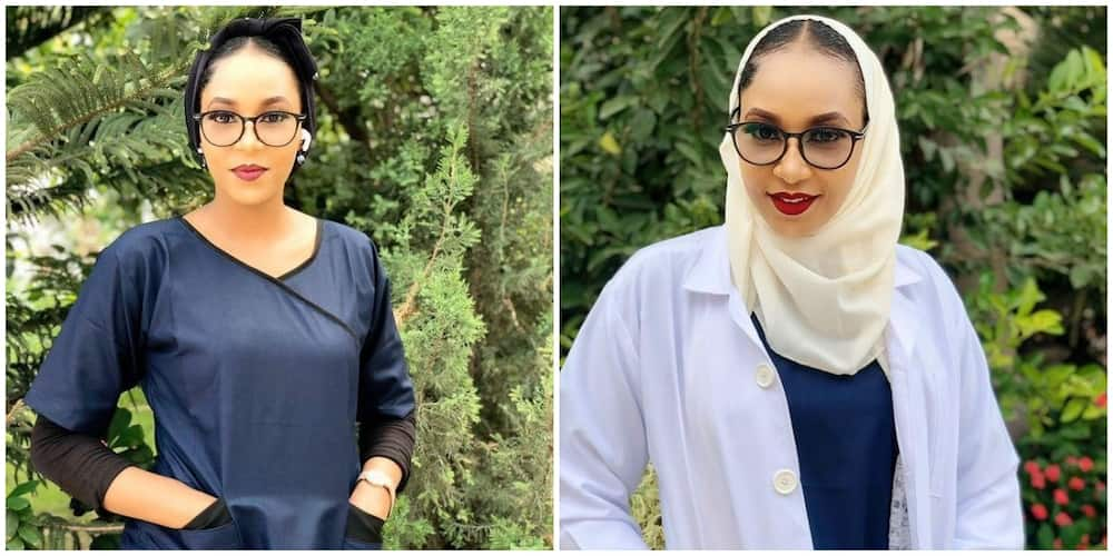 Pretty lady celebrates becoming a medical doctor, Nigerians say her beauty and smile can heal any patient