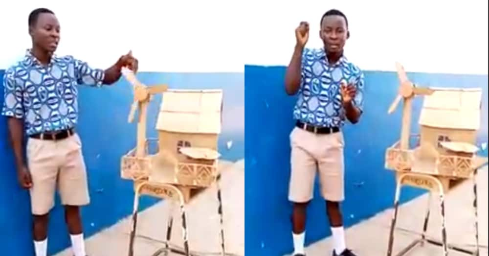 SHS student who created 'solution' to dumsor in need of help to further education