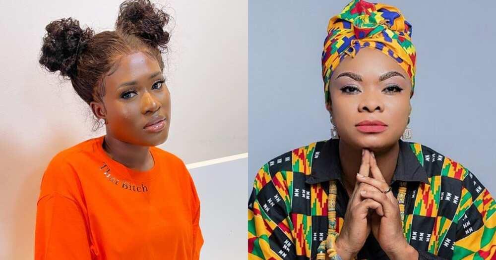 Fella Makafui: Actress Blocks Beverly Afaglo on Instagram