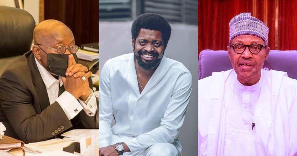 Basket Mouth Shares Akufo-Addo's Impressive Speech In Switzerand Nigerians Rate Him Over Buhari