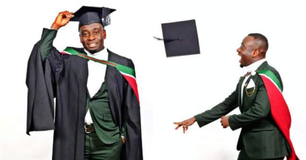 Mzansi man celebrates bagging honours degree