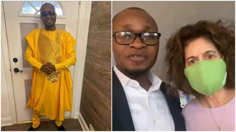 Kind Black Man Helps White Lady Recover her N13m after 'Scammers' Sent it to his Account