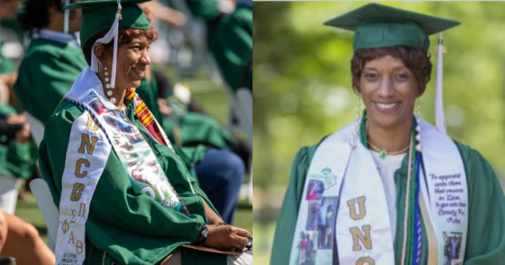 Michele Randolph: Deaf mother of 2 graduates with a degree from US university 1 year early