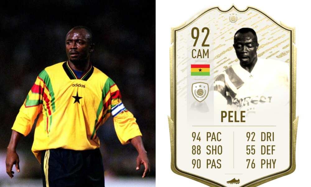 Ghana legend Abedi Pele set to make appearance on FIFA 22