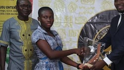Best BECE pupil remembers how her 'friend' was forced into marriage 3 days to exam