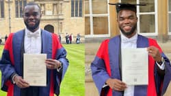 Young man who acquired 3 First-class degrees before age 22 bags doctorate from Oxford University