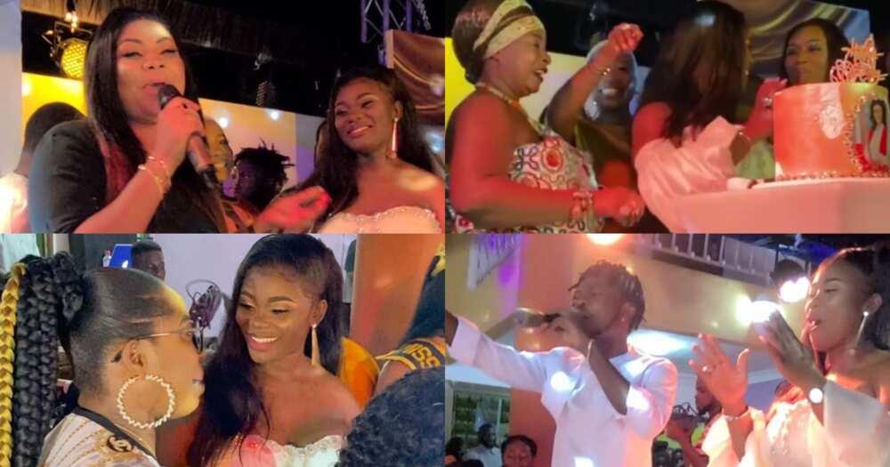 Akua GMB celebrates birthday with Fameye, Empress Gifty, others (videos)