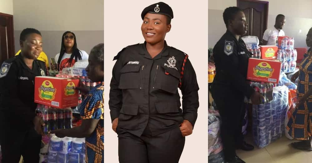 Ewurama Police: Meet the Ghanaian officer who keeps blessing orphanages with own money