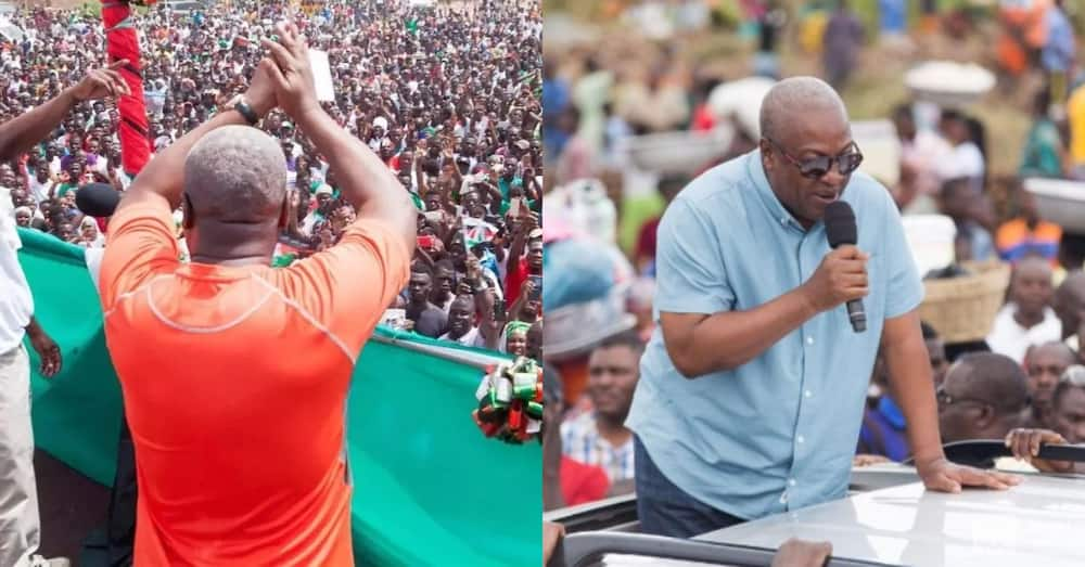 Ghanaians shake Twitter with works showing Mahama isn't for family & friends