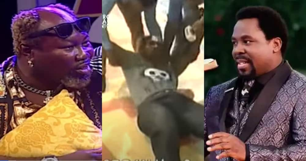 Ayitey Powers tells how he went to SCOAN with no cash; says 4 Angels took him to TB Joshua