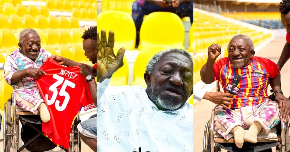 Meet the die-hard Hearts of Oak fan who Prayed for the win Against Kotoko
