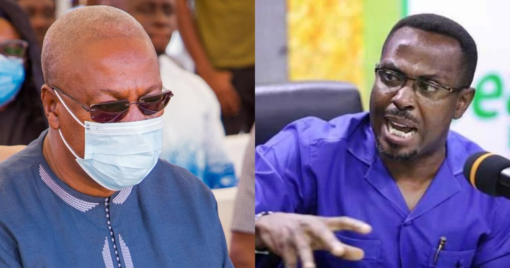 Mahama's petition was a wild goose chase to disturb our peace - Kwame Duncan