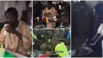 Old video of TB Joshua cooking & serving water to church members warms hearts