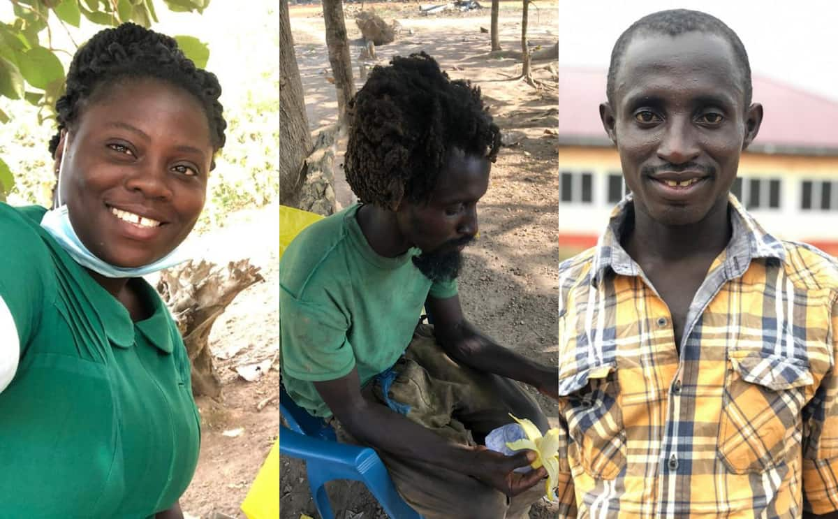 More photos of the mentally-ill man who was transformed by kind Ghanaian nurse drop