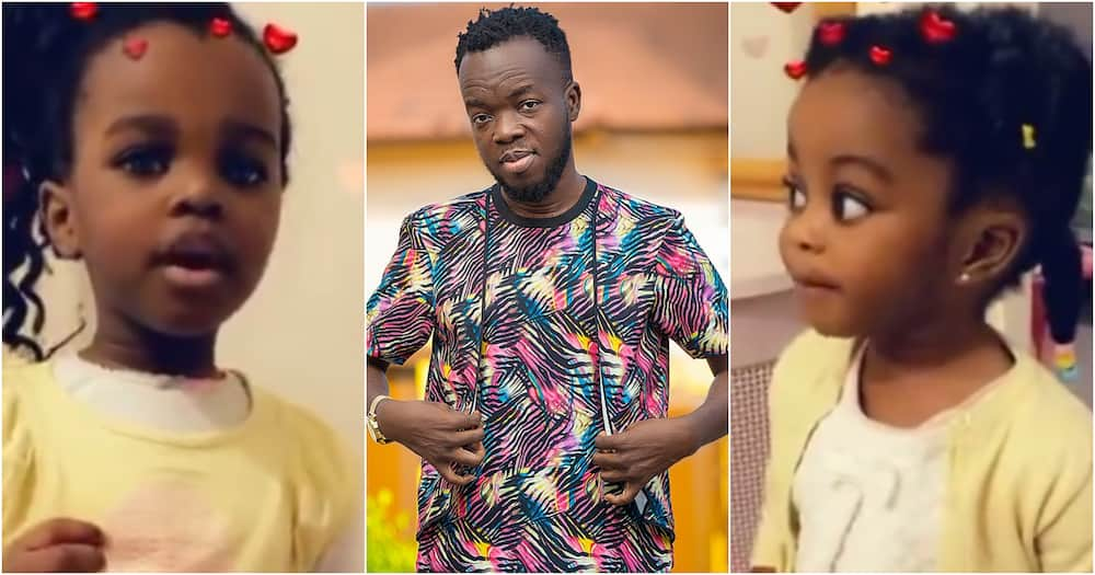 Video Of Akwaboah's Daughter's Speaking With Flawless British Accent Stir Reactions