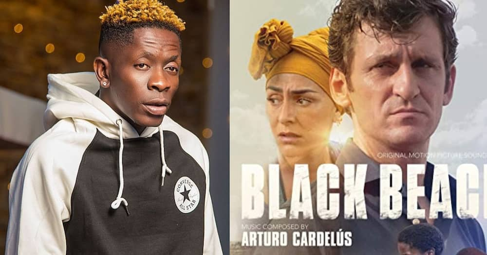 Shatta Wale's 2 songs featured in Black Beach movie on Netflix