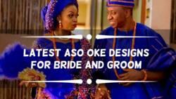 Amazing aso oke designs for weddings