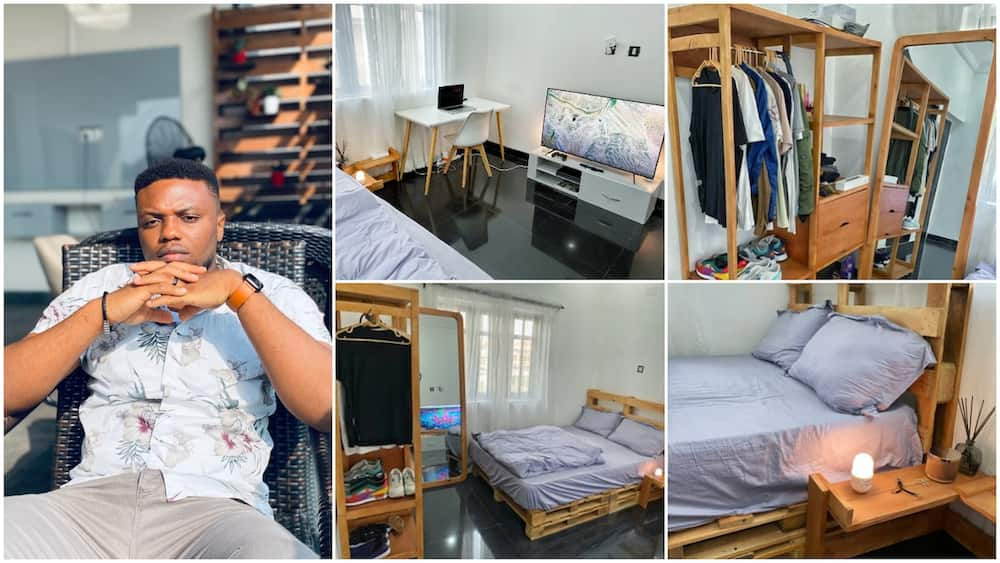 Young man shows off his newly designed room in beautiful pictures, many ask how he did it
