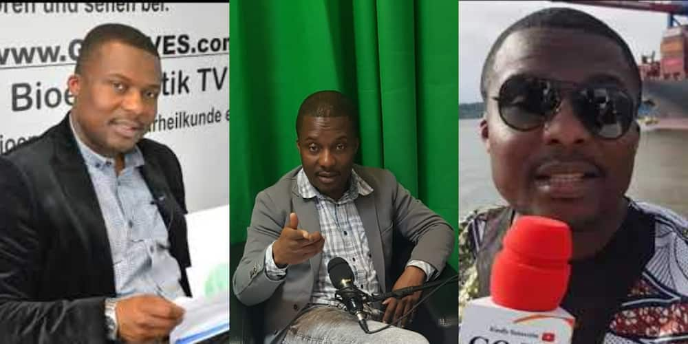 Former Ghanaian footballer who quit playing due to massive injury becomes renowned journalist