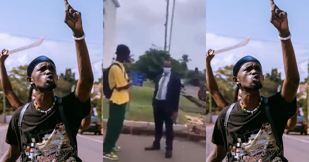 Superstar from where? - UPSA lecturer 'dresses' Black Sherif on campus; video drops