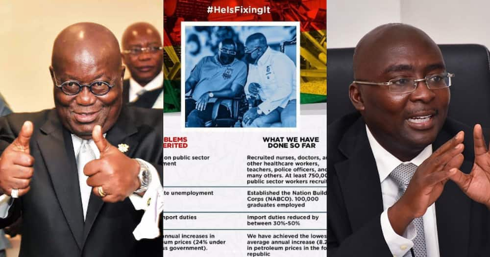 He Is Fixing It: Gov't drops tall list of things Akufo-Addo is currently fixing