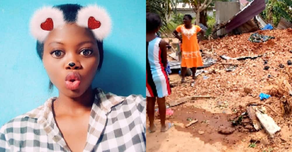 Anita Asieduwaa Ama Nkrumah: Girl gets run over by truck while cooking in kitchen
