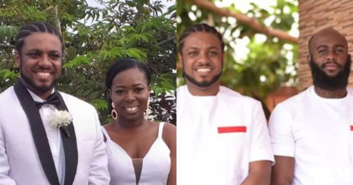 Powerful photos emerge as D-Cryme marries long-time girlfriend in beautiful ceremony