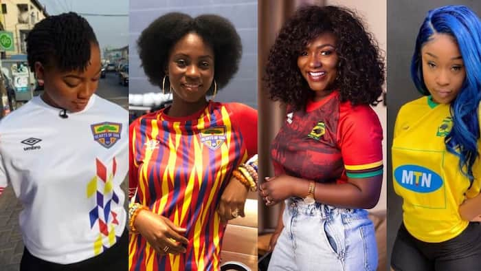 Hearts Vs Kotoko: Which team has the most beautiful female celebs as fans? (Photos)