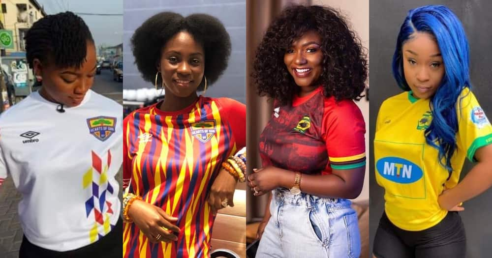 Hearts Vs Kotoko: Which Team Has The Most Beautiful Female Supporters?