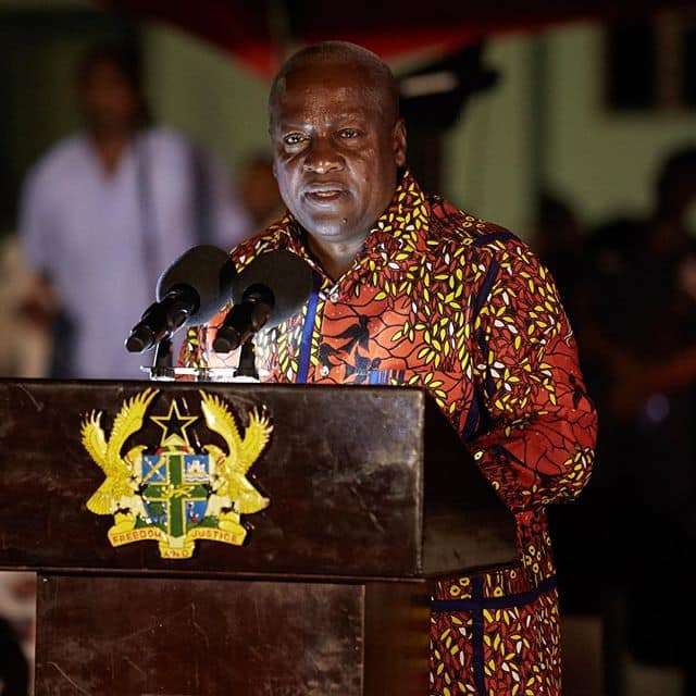 Everything you need to know about the security of Ghana according to John Mahama