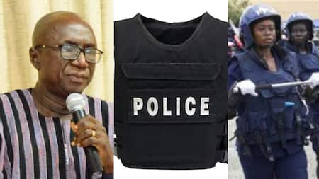 Limited 5000 police bulletproof vests cannot be given out for bank duties – Dery reveals