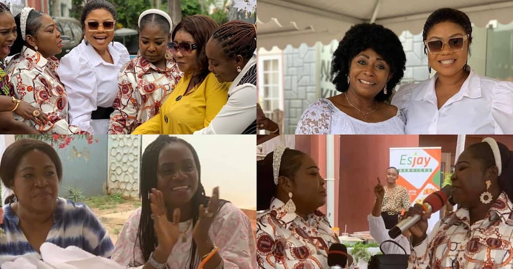 Tagoe Sisters 55th Birthday: Empress Gifty, Daughters, Other Gospel Stars Celebrate With Twin Singers