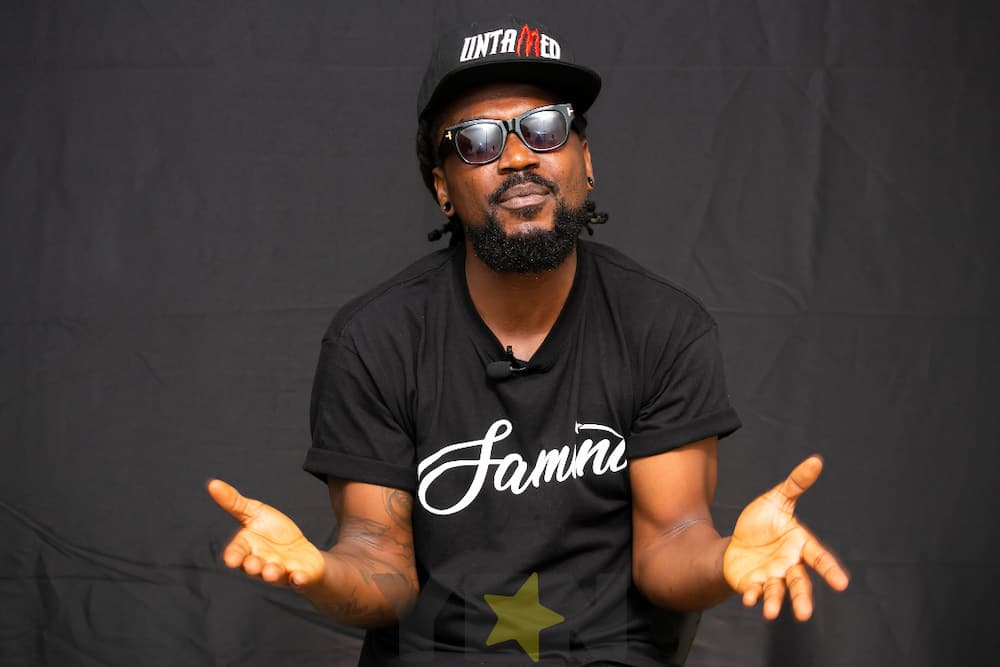 Samini: Musician Flaunts all-Grown sons with long Rasta in Adorable Photo
