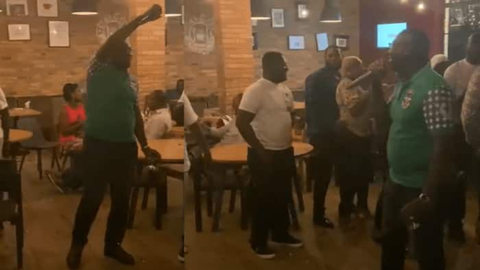 NLA boss Sammy Awuku shows fun side; gives thrilling stage performance at AUGUSCO reunion