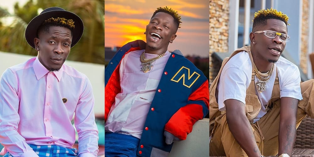 Shatta Wale is a year older today; celebrates himself with stunning b'day photo