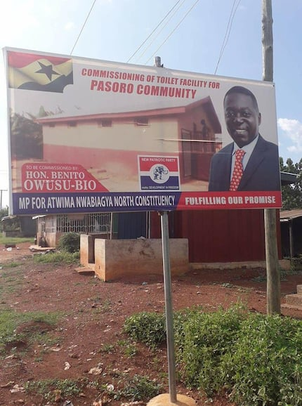 "NPP MP blasted for signboard celebrating the building of a ""KVIP"""